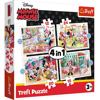 Trefl Puzzle 4in1 Minnie Mouse (34355)