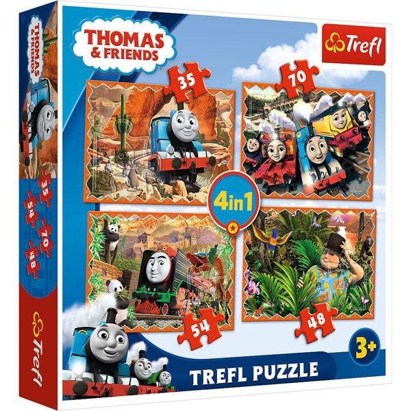 Trefl Puzzle 4in1 Thomas & Friends (34300)