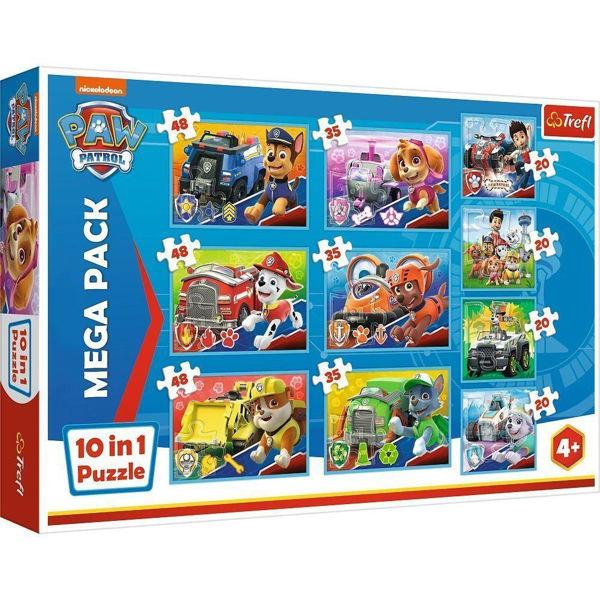 Trefl Puzzle 10in1 Paw Patrol (90355)