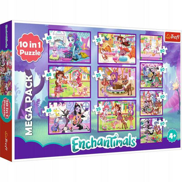 Trefl Puzzle 10σε1 Enchantimals (90354)