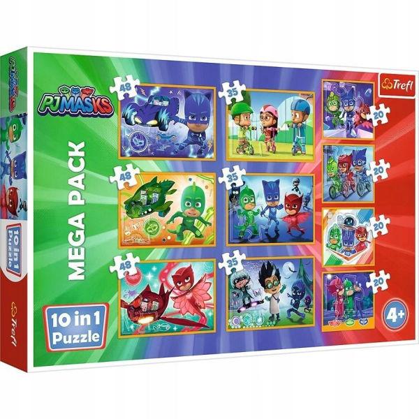 Trefl Puzzle 10σε1 PJ Masks (90357)