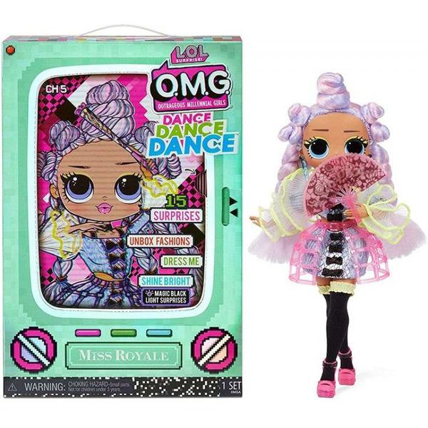 LOL Surprise Dance OMG Κούκλα 4 Σχέδια (117841)