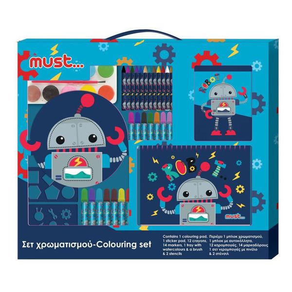 Must Σετ Χρωματισμού Ρομπότ (000584286)