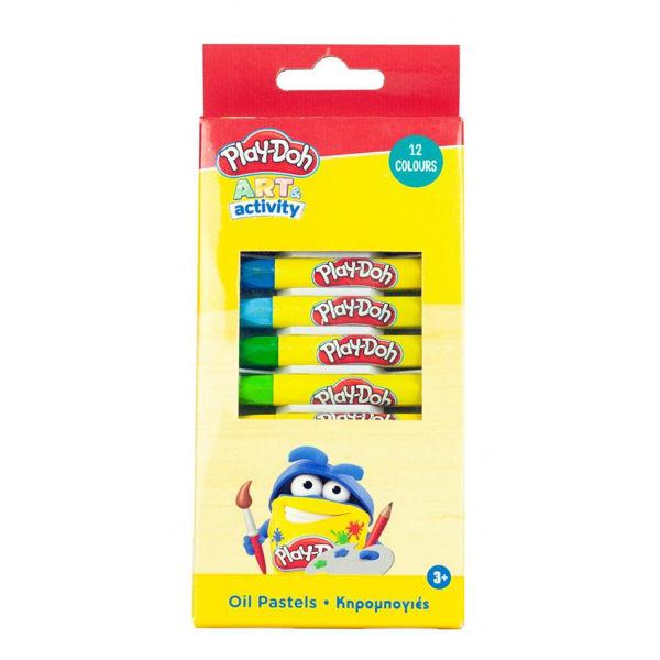 Play-Doh Art Activity Κηρομπογιές 12τεμ (320-30000)