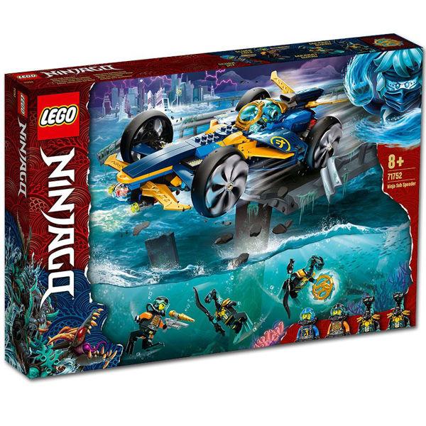 Lego Ninjago Ninja Sub Speeder (71752)