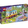 Lego Friends Forest Camper Van and Sailboat (41681)
