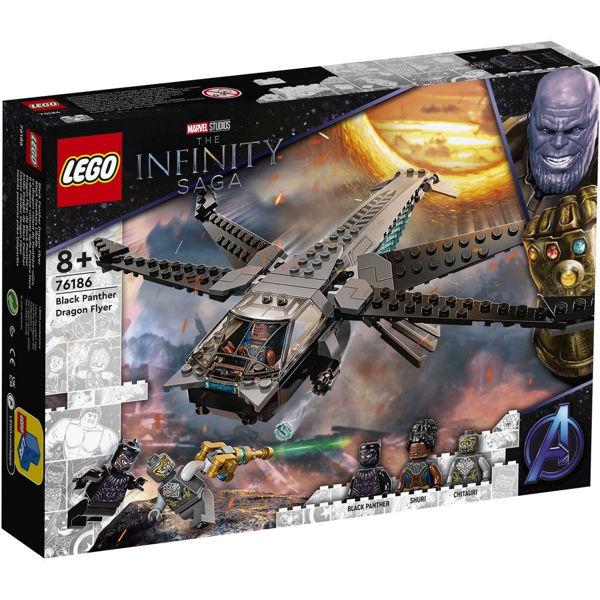 Lego Super Heroes Black Panther Dragon Flyer (76186)