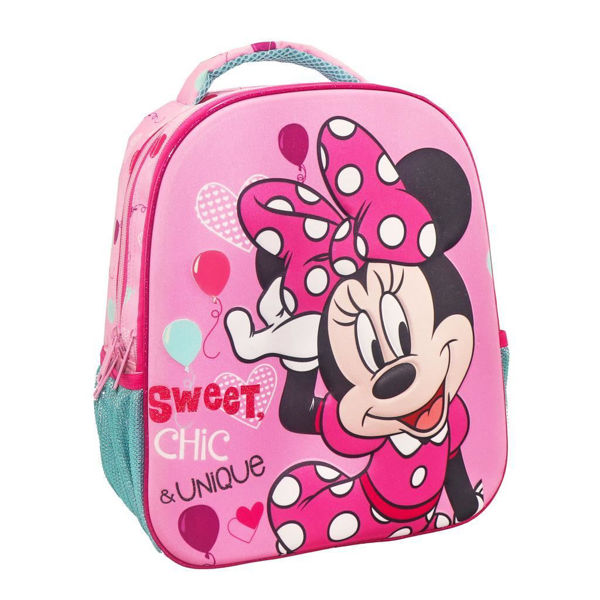 Minnie Mouse Σακίδιο Νηπίου 3D Sweet Chic & Unique (000562677)