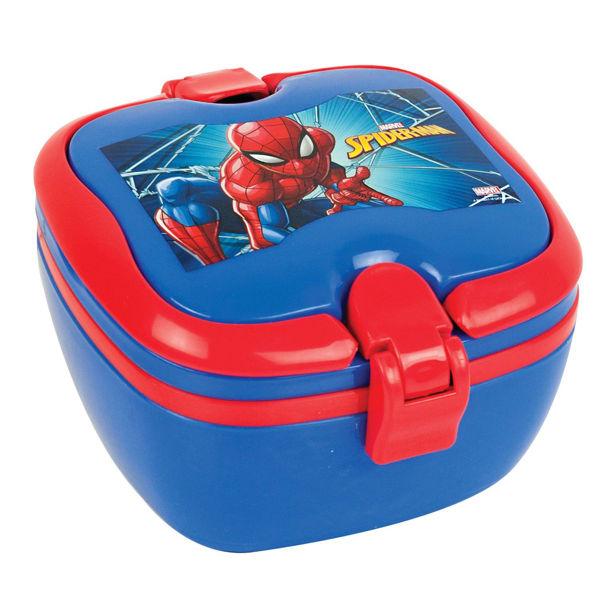 Spiderman Τάπερ Φαγητού Microwave (557-18266)