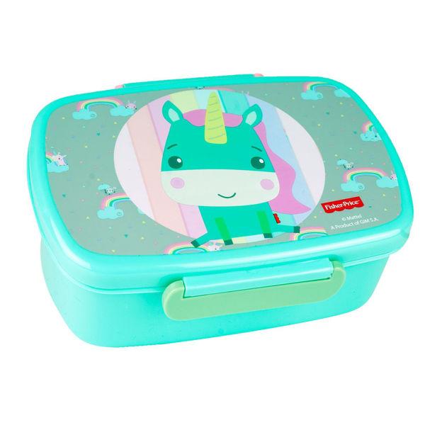 Fisher Price Τάπερ Φαγητού Microwave Unicorn (571-55265)