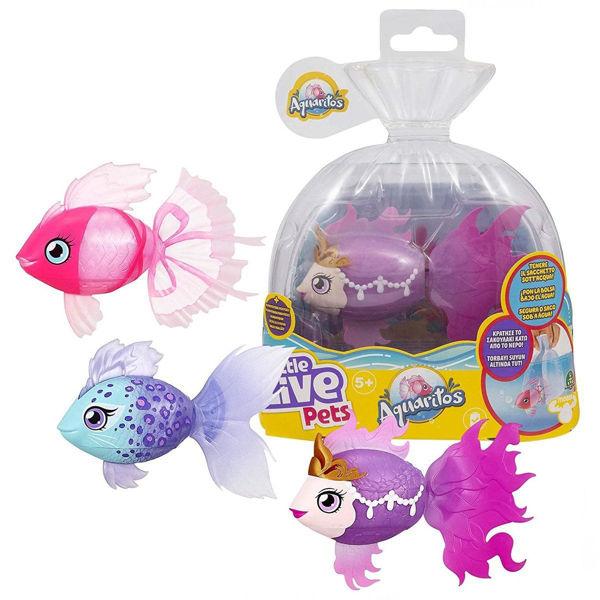 Little Live Pets Aquaritos Ψαράκι 3 Σχέδια (LP101000)