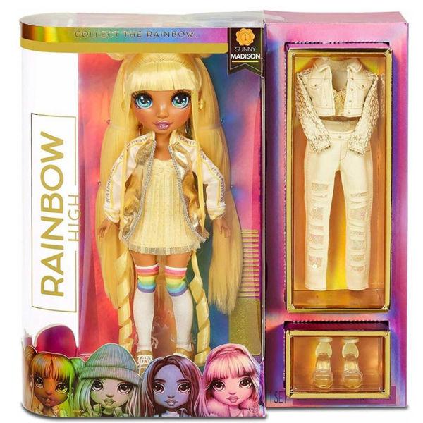 Rainbow High Fashion Doll Sunny Madison (RAB06000)