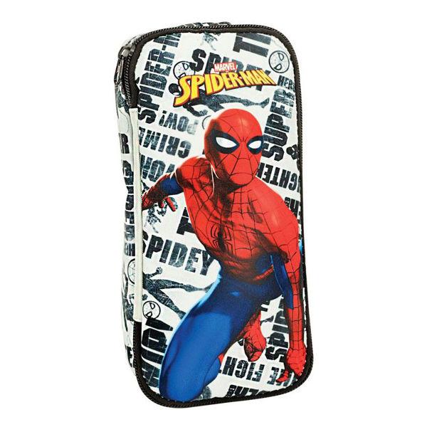 Spiderman Κασετίνα Οβάλ Pattern (337-78144)