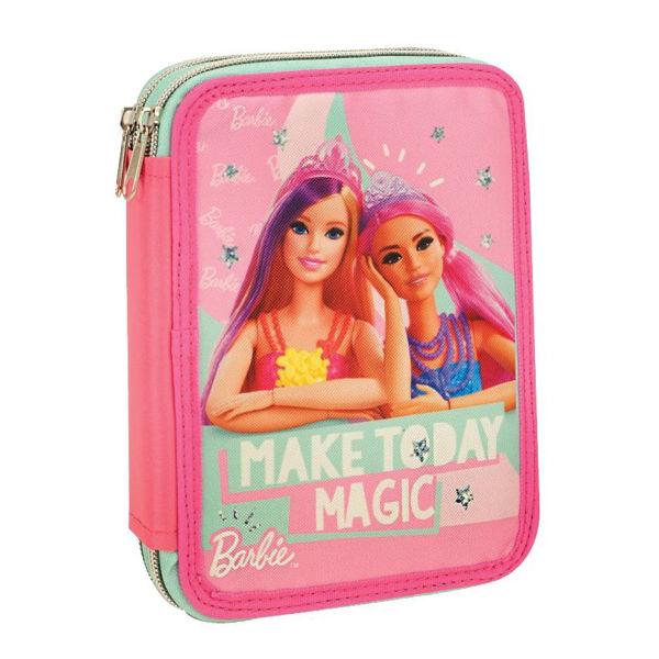 Barbie Κασετίνα Διπλή Γεμάτη Think Sweet (349-70100)