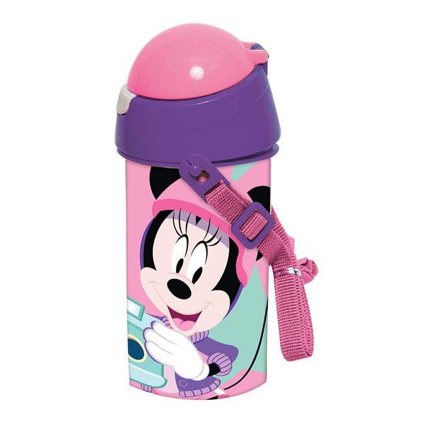 Minnie Mouse Παγούρι Καλαμάκι 500ml (553-31209)