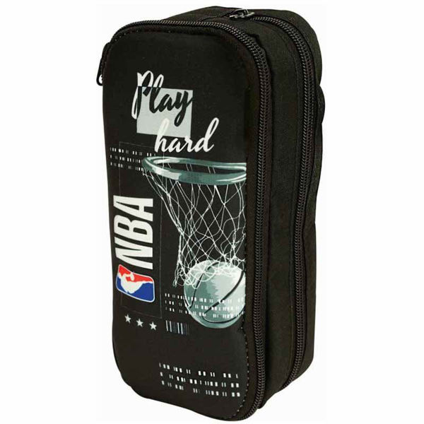 NBA Κασετίνα Βαρελάκι Οβάλ Play Hard (338-37141)