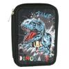 Back Me Up Κασετίνα Διπλή Γεμάτη Dinosaur (357-05100)