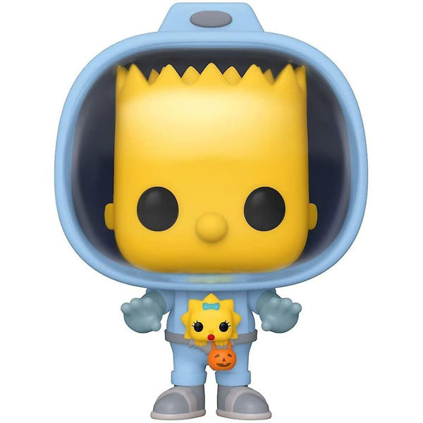 Funko Pop! Vinyl-Spaceman Bart With Chestburster Maggie (The Simpsons: Treehouse Of Horror) (1026)