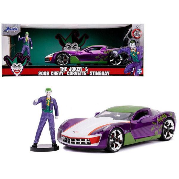 Jada The Joker 2009 Chevy Corvette Stingray 1:24 (325-5020)