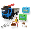 Dickie Σετ Όχημα Recycling Container Με 1 Φιγούρα, Φως & Ήχο (383-6003)