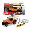 Dickie Jeep Camping Set Με 1 Φιγούρα, Φως & Ήχο (383-5004)