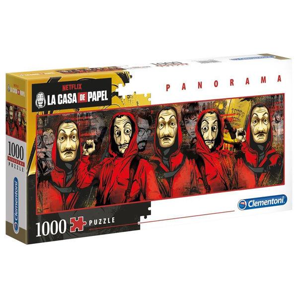Clementoni Puzzle Panorama 1000τεμ La Casa De Papel (39545)