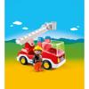 Playmobil 1.2.3. Πυροσβέστης Με Κλιμακοφόρο Όχημα (6967)