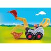 Playmobil 1.2.3. Φορτωτής Εκσκαφέας (70125)