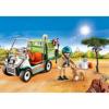 Playmobil Family Fun Κτηνίατρος Με Όχημα Ζωολογικού Κήπου (70346)