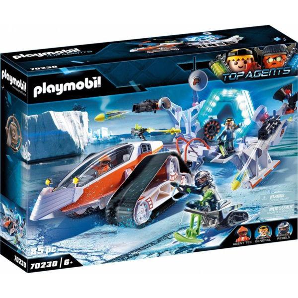 Playmobil Top Agents Ερπυστριοφόρο Όχημα Της Spy Team (70230)
