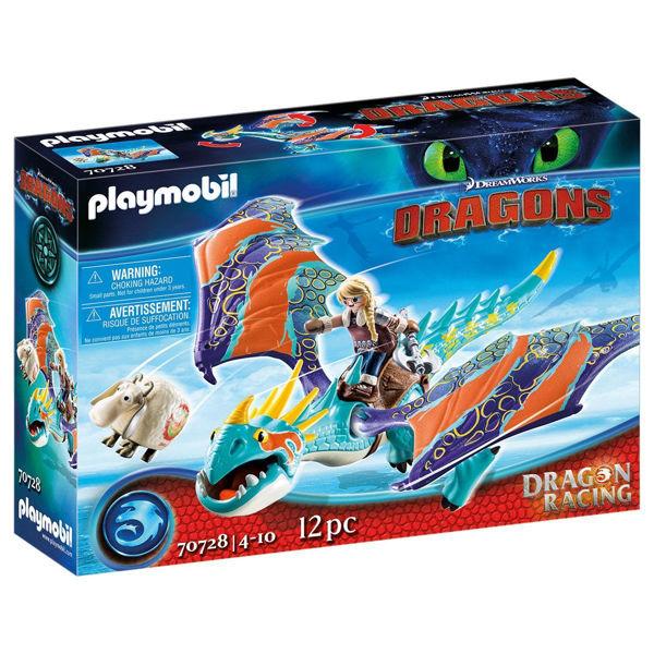 Playmobil Dragons Άστριντ & Λευκή Οργή (70728)