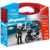 Playmobil Βαλιτσάκι Αστυνόμος με Mοτοσικλέτα (5648)