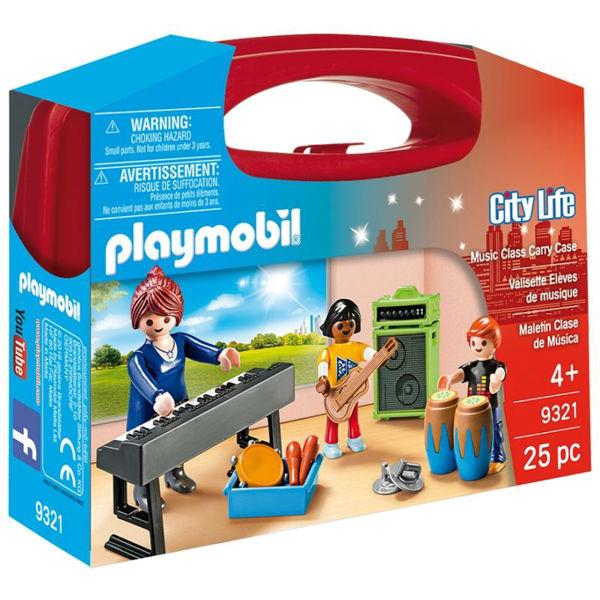 Playmobil Βαλιτσάκι Μάθημα Μουσικής (9321)