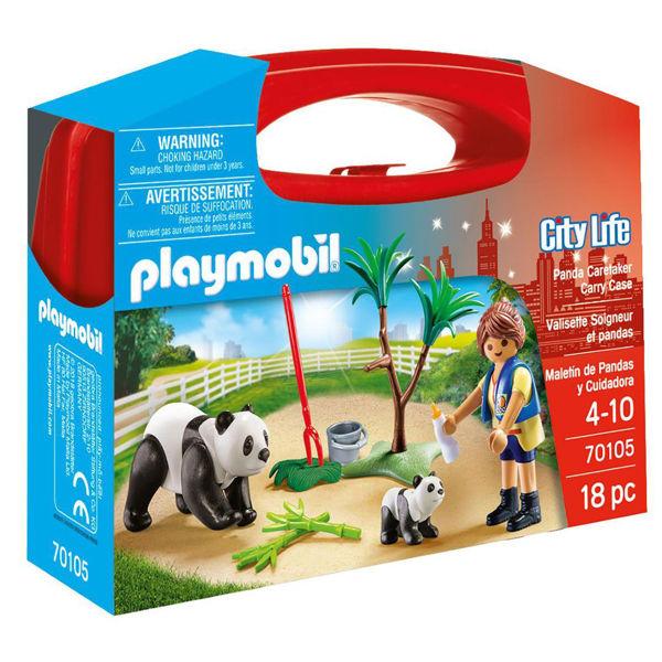 Playmobil City Life Βαλιτσάκι Φροντίζοντας Τα Πάντα (70105)
