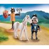 Playmobil Βαλιτσάκι Εξάσκηση Κονταρομαχίας (70106)