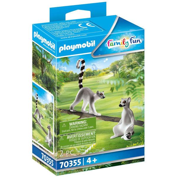 Playmobil Family Fun Δύο Λεμούριοι (70355)