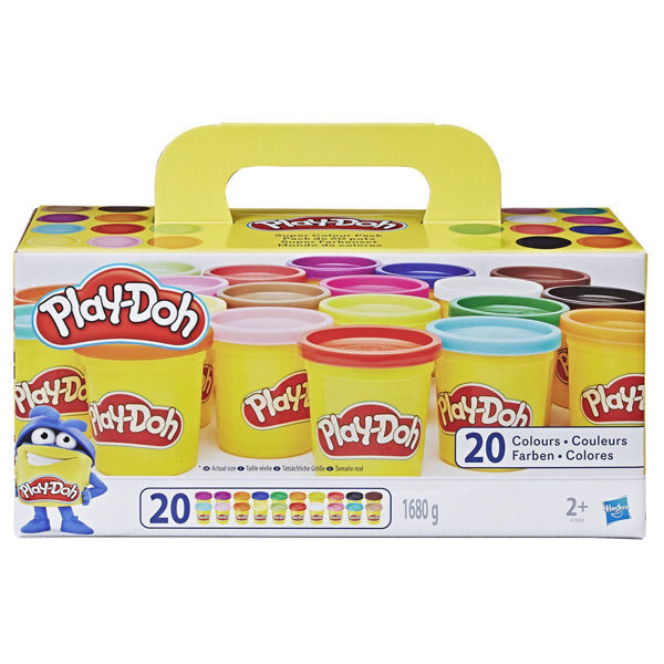 Play-Doh Super Color Pack 20τεμ (A7924)