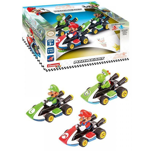 Carrera Pull Speed Nintendo Mario Kart 3τεμ (15813010)