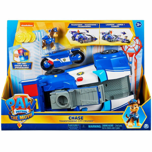 Paw Patrol The Movie Chase Transforming City Cruiser (6060759)